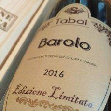 Coleccionismo de vinos y licores: 1 MAGNUM BAROLO TABAI EDIZIONE LIMITED CHANEL YEAR 2016. Lote 288605328