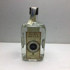 Coleccionismo de vinos y licores: BOTELLA DE WHISKY GLEN KELLA 8 AÑOS - WHISKY BLANCO DE ISLA DE MAN - MANX MALT. Lote 289214723