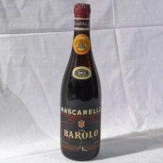 Coleccionismo de vinos y licores: BOTELLA DE VINO MASCARELLO BAROLO 1964 RESERVA ESPECIAL, SIN ABRIR. Lote 289503043