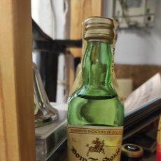 Coleccionismo de vinos y licores: BOTELLÍN AGUARDIENTE DOM TEODOSIO. Lote 293334058