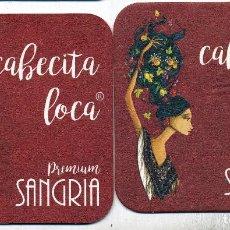 Coleccionismo de vinos y licores: ESPAÑA - SPAIN - POSAVASOS - COASTERS - CERVEZAS - BEER. Lote 294375783