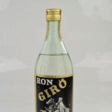 Coleccionismo de vinos y licores: RON GIRÓ - BOTELLA PRECINTADA 1970'S. Lote 295044668