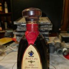 Coleccionismo de vinos y licores: BRANDY DE JEREZ SOLERA GRAN RESERVA 1942. Lote 296003023