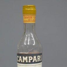 Coleccionismo de vinos y licores: BOTELLIN. CAMPARI. Lote 296026623