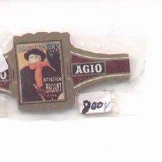 Vitolas de colección: 14-54. VITOLAS AGIO POSTER FRANCESES. Lote 217900626