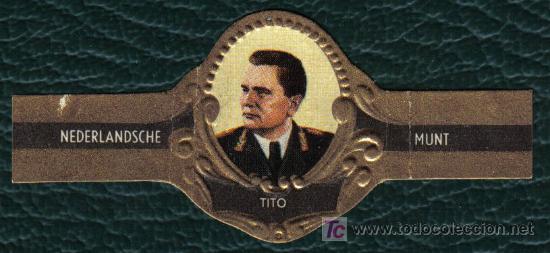 NEDERLANDSCHE MUNT - GRANDES HOMBRES Y TIRANOS Nº 39 - TITO (Coleccionismo - Objetos para Fumar - Vitolas)
