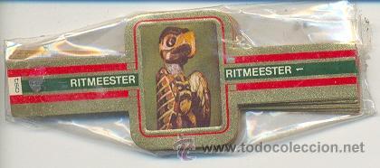14-765. VITOLAS RITMEESTER. MUSEO BRITANICO (Coleccionismo - Objetos para Fumar - Vitolas)