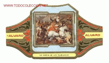 Alvaro Cuadros De Pintores Espanoles Ii Goya La Carga De Los Mamelucos Nº 10