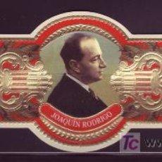 Vitolas de colección: CONDAL, COMPOSITORES ESPAÑOLES S. XX, ERROR JOAQUIN RODRIGO.. Lote 30866103