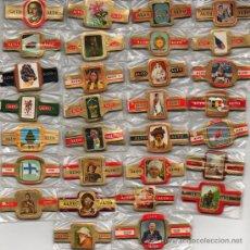 Vitolas de colección: LOTE DE 30 SERIES DIFERENTES Y COMPLETAS DE LA MARCA ALTO. Lote 26877255