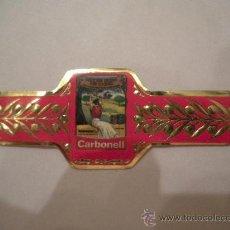 Vitolas de colección: VITOLA ADHESIVA CARBONELL, NUEVA, AÑOS 80. Lote 26637067
