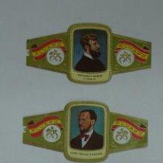 Vitolas de colección: LOTE 5 VITOLAS ALVARO. SERIE ESCULTORES. . Lote 12882997