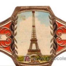 Vitolas de colección: CAPOTE VITOLA 24 MARAVILLAS MUNDIALES TORRE EIFFEL Nº 3. Lote 13743921