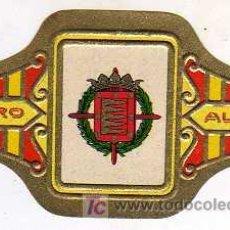 Vitolas de colección: VITOLA - ALVARO - SERIE ESCUDOS DE ESPAÑA - Nº 51 VALLADOLID. Lote 14610161