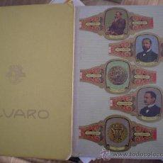 Vitolas de colección: * ALBUM VITOLAS: PREMIOS NOBEL MEDICINA Y FISIOLOGIA. Lote 23542994