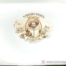 Vitolas de colección: VISTA DE TABACO. HABILITACION. BOFETON. EN RELIEVE. SANCHO PANZA.. Lote 16653243