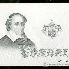 Vitolas de colección: VISTA DE TABACO. HABILITACION. BOFETON. VONDEL.. Lote 16653316
