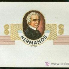 Vitolas de colección: VISTA DE TABACO. HABILITACION. BOFETON. HERMANOS.. Lote 16653451