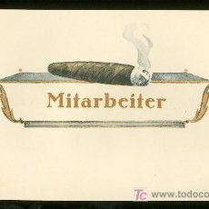 Vitolas de colección: VISTA DE TABACO. HABILITACION. BOFETON. MITARBEITER.. Lote 16653466