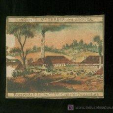 Vitolas de colección: HABILITACION DE TABACO. SIGLO XIX. RARISIMA. . Lote 19650730