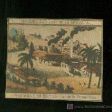 Vitolas de colección: HABILITACION DE TABACO. SIGLO XIX. RARISIMA. . Lote 19650735