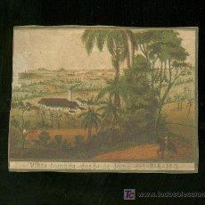 Vitolas de colección: HABILITACION DE TABACO. SIGLO XIX. RARISIMA. . Lote 19650786