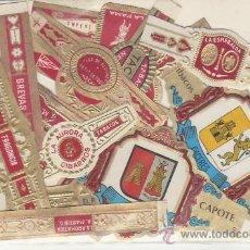 Vitolas de colección: LOTE DE VITOLAS. MAS DE 15 DIFERENTES. COLECCIONISTAS VEA MAS EN RASTRILLOPORTOBELLO. Lote 20907584