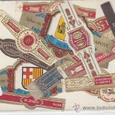 Vitolas de colección: LOTE DE VITOLAS. MAS DE 12 DIFERENTES. VEA MAS COLECCIONSIMO EN GENERAL EN RASTRILLOPORTOBELLO. Lote 20907598