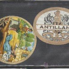 Vitolas de colección: VITOLAS-2 PIEZAS. MIRE MAS EN RASTRILLOPORTOBELLO-COLECCIONISMO EN GENERAL.. Lote 20908054
