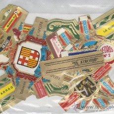 Vitolas de colección: LOTE DE VITOLAS- MAS DE 10 PIEZAS. MIRE MAS EN RASTRILLOPORTOBELLO-COLECCIONISMO EN GENERAL.. Lote 20908194
