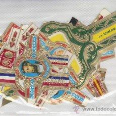 Vitolas de colección: LOTE DE VITOLAS- MAS DE 10 PIEZAS. VEA MAS EN RASTRILLOPORTOBELLO-COLECCIONISMO EN GENERAL.. Lote 20908238