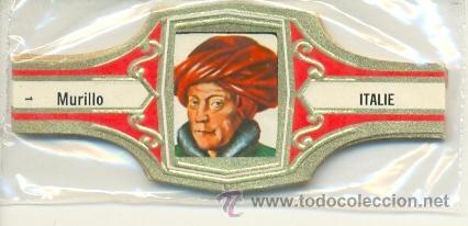 14-1186. VITOLAS MURILLO. TOCADOS DEL MUNDO. 24 VIT. ROJO, FM (Coleccionismo - Objetos para Fumar - Vitolas)