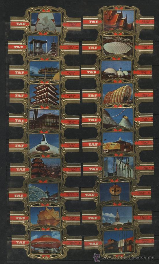 VITOLAS CASA TAP OSAKA 1970 (Coleccionismo - Objetos para Fumar - Vitolas)