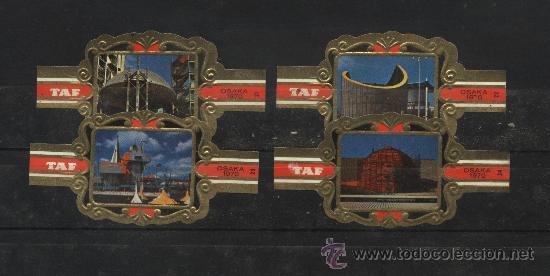 Vitolas de colección: vitolas casa tap osaka 1970 - Foto 2 - 24551269