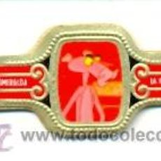 Vitolas de colección: 14-1363. VITOLAS ESMERALDA. LA PANTERA ROSA, 12 VIT. FP. Lote 25412964