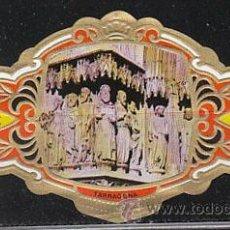 Anéis de charuto de coleção: TARRAGONA, CATEDRAL, PORTICO, PARTE IZQUIERDA, CAPOTE, COLECCIÓN ARQUITECTURA MONUMENTAL Nº 23. Lote 151077054