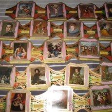 Vitolas de colección: QUEX TABACOFILIA VITOLA - LOTE DE 20 VITOLAS TABACO ALVARO SERIE PINTORES ESPAÑOLES VELAZQUEZ. Lote 28725001