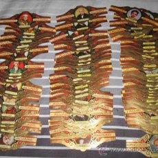 Vitolas de colección: QUEX TABACOFILIA VITOLA - LOTE DE 139 VITOLAS TABACO ALVARO SERIE LITERATOS. Lote 28725137
