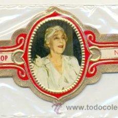 Vitolas de colección: 14-1520. VITOLAS STOMPKOP. REINA ELISABETH DE BÉLGICA. 5 VIT. FM. ROJA. Lote 28876734