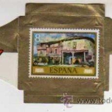 Vitolas de colección: VITOLA REIG - SERIE LA PINTURA EN EL SELLO - LAS CASAS DE BOTERO EN LERMA - ZULOAGA. Lote 29096138