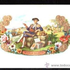 Vitolas de colección: HABILITACION. VISTA. BOFETON.. Lote 29483352
