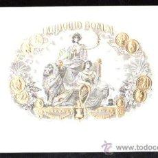 Vitolas de colección: HABILITACION TABACO . VISTA. BOFETON. MARCA QUIDQUID BONUM. Lote 29483432