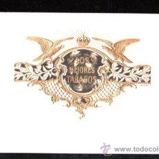 Vitolas de colección: HABILITACION TABACO. VISTA. BOFETON. LOS MEJORES TABACOS. Lote 29483443