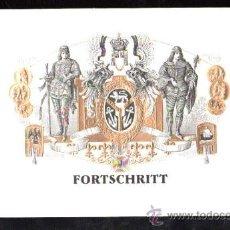 Vitolas de colección: HABILITACION TABACO. VISTA. BOFETON. MARCA FORTSCHRITT. Lote 29483470