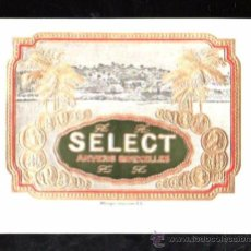 Vitolas de colección: HABILITACION TABACO. VISTA. BOFETON.. Lote 29483500