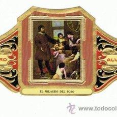 Vitolas de colección: 12 VITOLAS.ALVARO.CUADR PINT ESP.ALFONSO CANO.COLECCIÓN COMPLETA 12. . TAMAÑO GRANDE. Lote 31863140