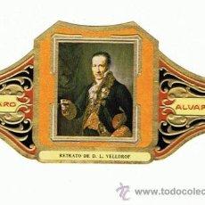 Vitolas de colección: 20 VITOLAS.ALVARO.CUADR PINTOR ESPAÑOL VICENTE LOPEZ.. TAMAÑO GRANDE. ALGUNAS REPETI. Lote 31870255