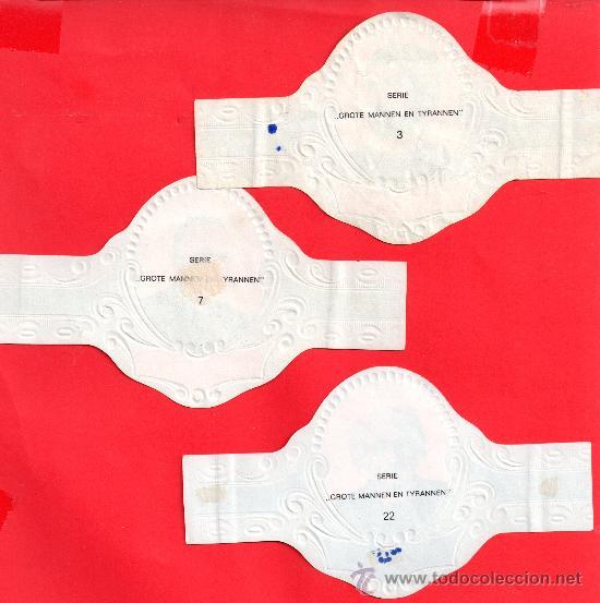 Vitolas de colección: vitola parte detras algunas - Foto 2 - 33818553