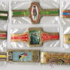 Vitolas de colección: BONITO LOTE COMPUESTO POR 10 SERIES DE VITOLAS TODAS DIFERENTES Y COMPLETAS.. Lote 34475744