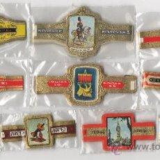 Vitolas de colección: BONITO LOTE COMPUESTO POR 10 SERIES DE VITOLAS TODAS DIFERENTES Y COMPLETAS.. Lote 34487537